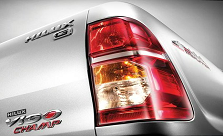 2102 Toyota Hilux Vigo comes with new Tail Lights