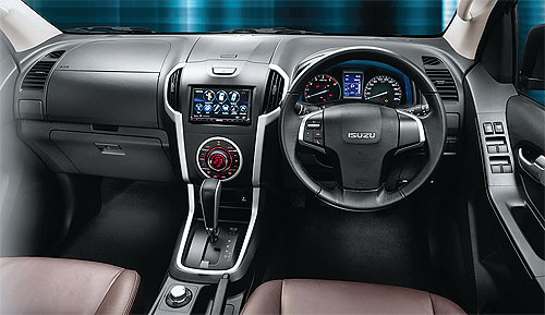 2012 Isuzu Dmax interior at Jim Autos Thailand