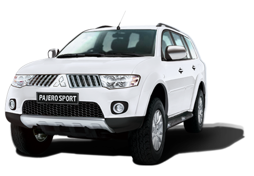 Mitsubishi Pajero Sport available in Himalayan White
