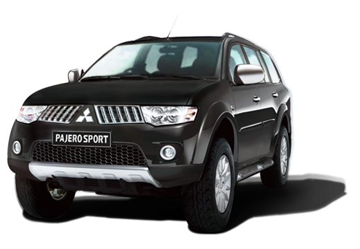 Mitsubishi Pajero Sport available in Pure Black