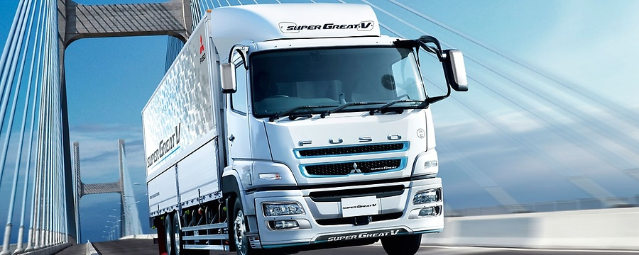 FUSO Super Great V: Distribution and goods transportation, construction