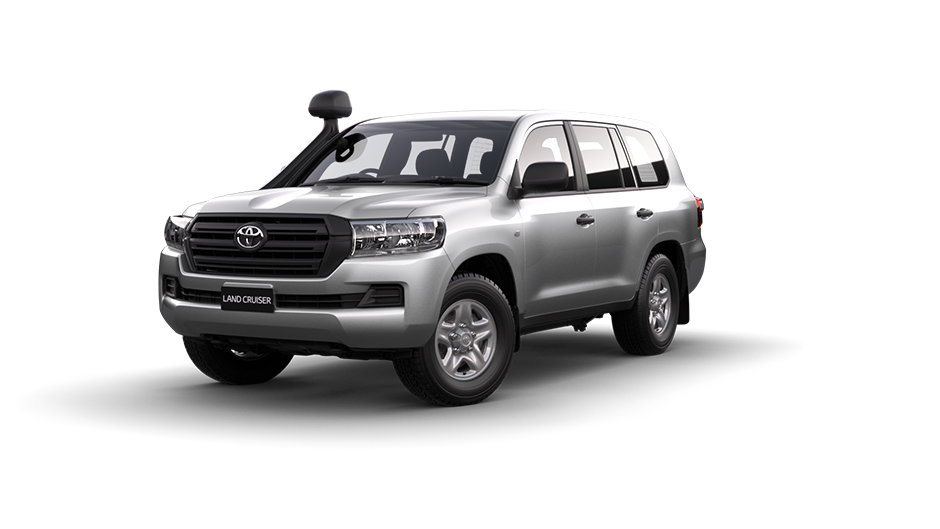 Toyota LandCruiser 200 GX in Silver Pearl