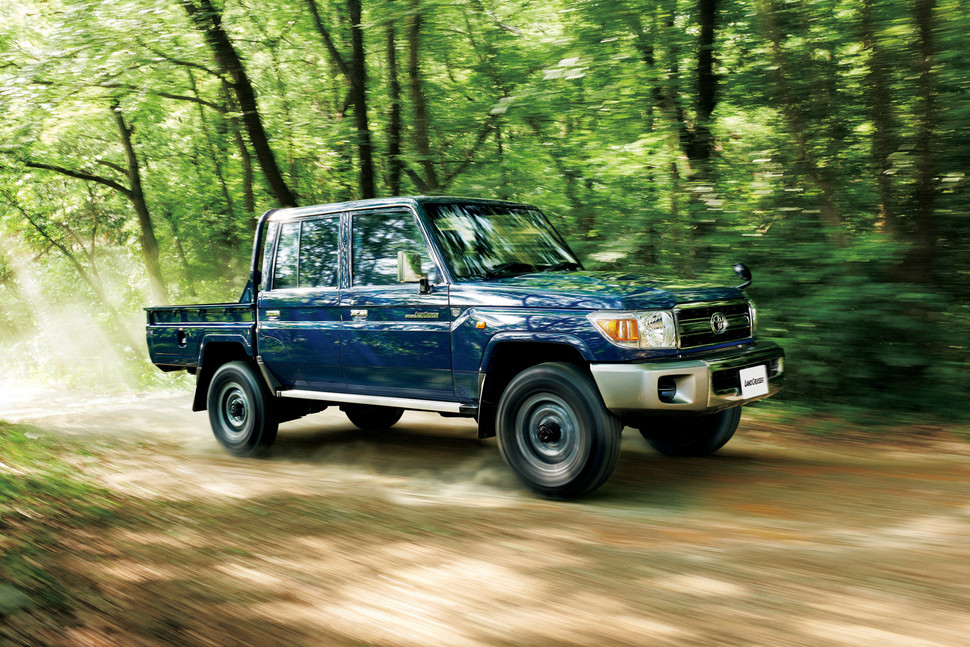 toyota series land cruiser