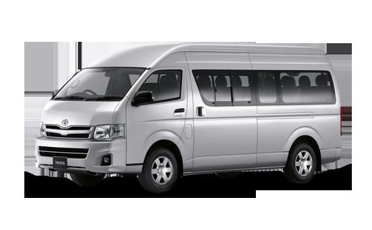 Toyota Hiace Commuter Passenger Van Thailand Thailand